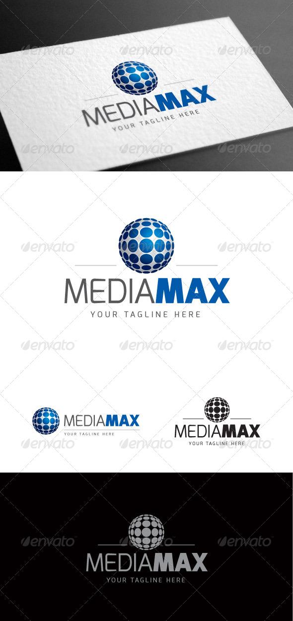 GraphicRiver Mediamax Logo Template 8100411
