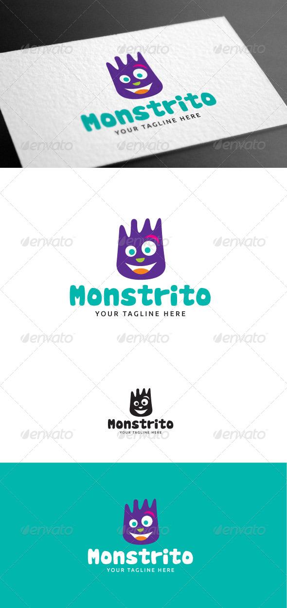 GraphicRiver Monstrito Logo Template 8100414