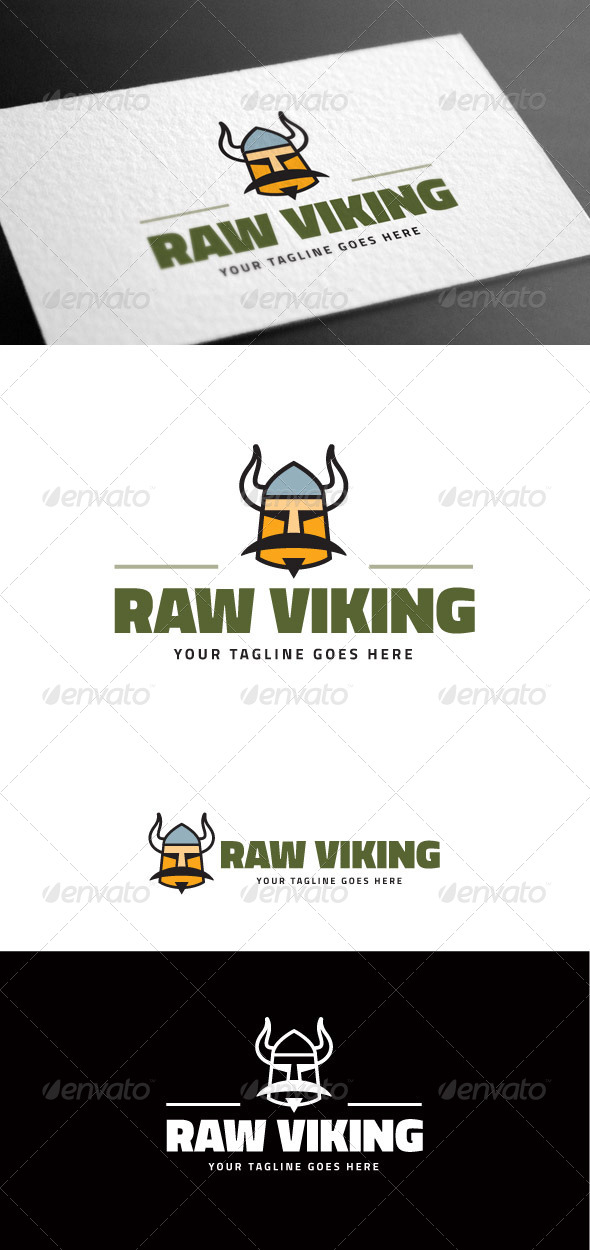 GraphicRiver Viking Logo Template 8100647