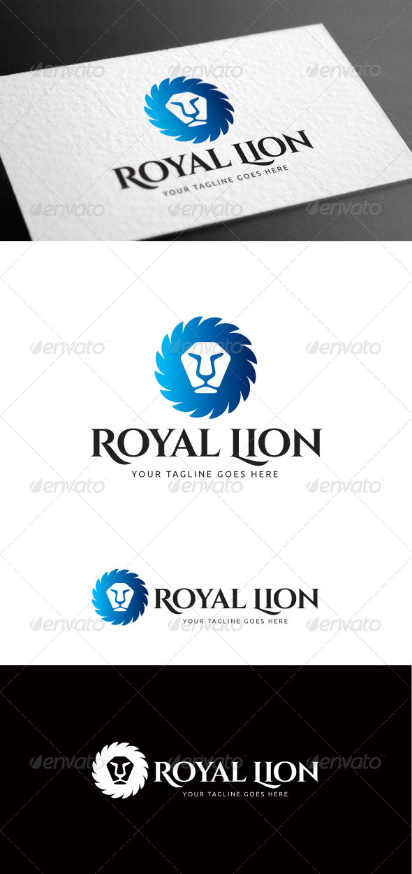 GraphicRiver Royal Lion Logo Template 8100648