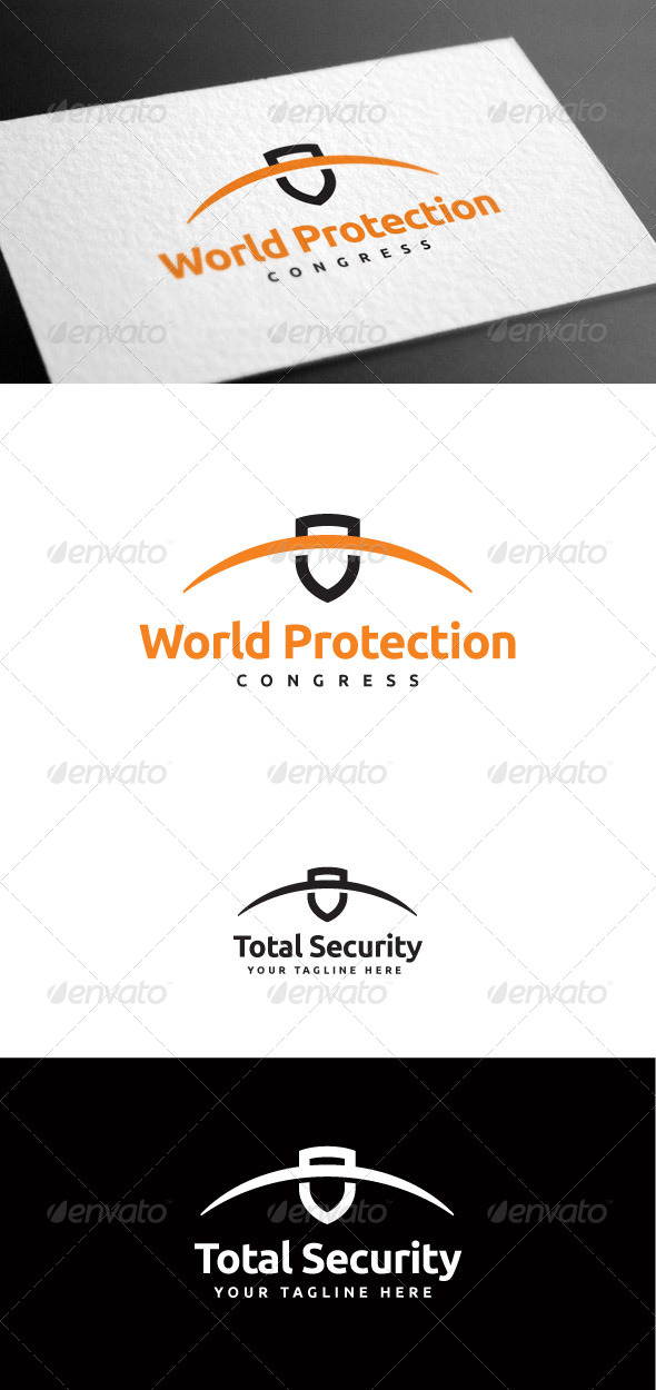 GraphicRiver Security Protection Logo Template 8100657