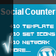 My Social Counter for Wordpress - CodeCanyon Item for Sale