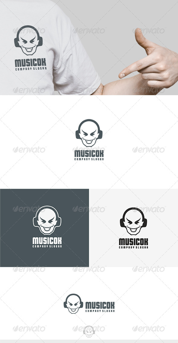 Music Ok Logo - Humans Logo Templates