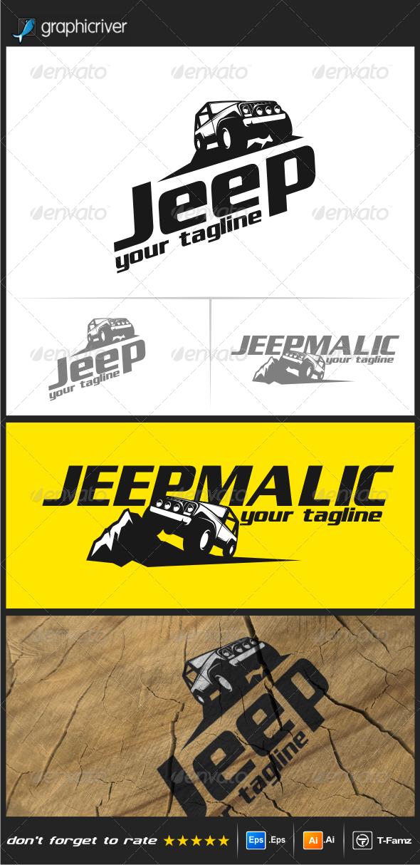 GraphicRiver Jeep Logo Templates 8100975