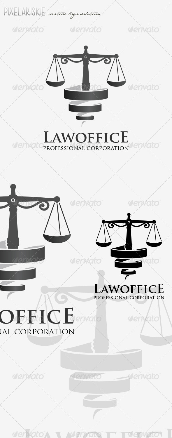 GraphicRiver Law Office Logo 8101007