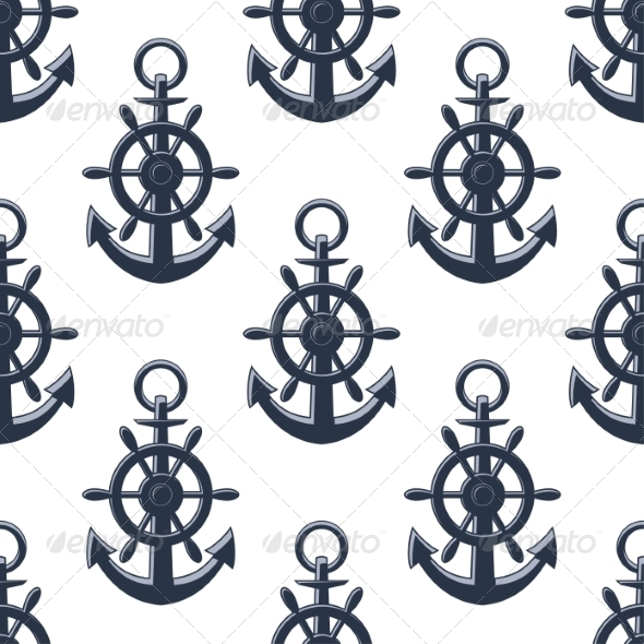 GraphicRiver Anchors Pattern 8101030