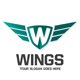 Letter W Wings Logo - GraphicRiver Item for Sale
