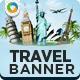 Travel Banner Set - GraphicRiver Item for Sale