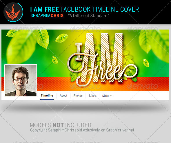 GraphicRiver I Am Facebook Timeline Cover Template 8101283