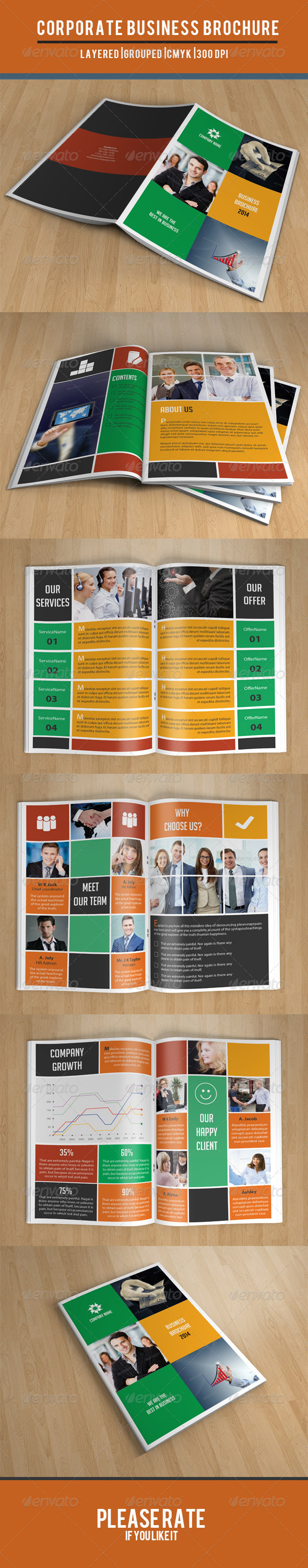 GraphicRiver Metro Style Business Brochure-V69 8101306