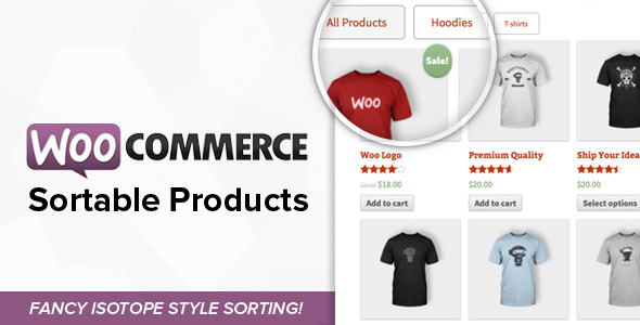 CodeCanyon WooCommerce Sortable Products 8088963