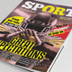 25 Pages Sport Magazine Vol64 - GraphicRiver Item for Sale
