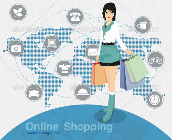 GraphicRiver Online Shopping 8101669