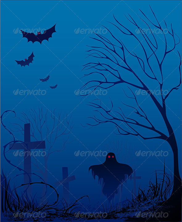 GraphicRiver Old Cemetery 8101768