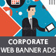 Corporate Business Banner Ads - GraphicRiver Item for Sale