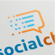 Social Chat Logo - GraphicRiver Item for Sale