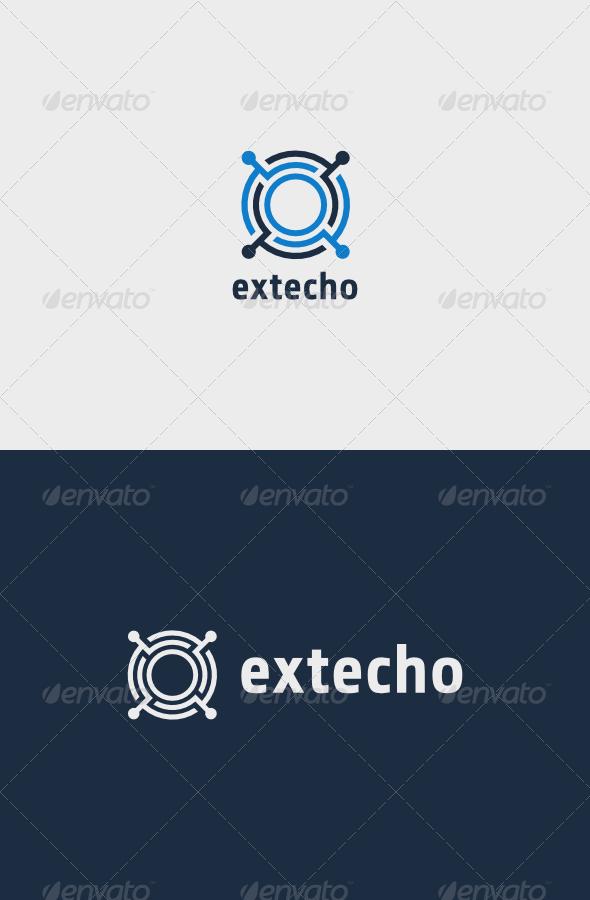 GraphicRiver Tech Circle Logo 8101813