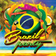 Brazil Party Flyer - GraphicRiver Item for Sale