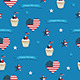 Fourth of July Pattern - GraphicRiver Item for Sale