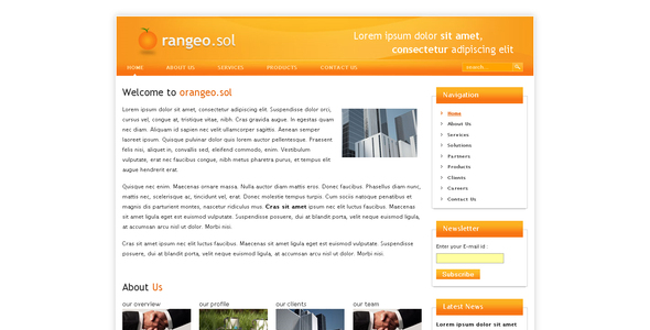 ThemeForest Orangeo.sol 34328