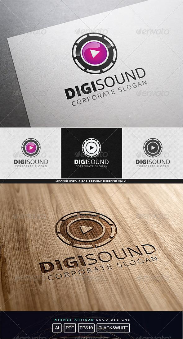 GraphicRiver Digi Sound Logo Template 8102216