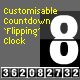 Customisable Countdown Flipping Clock - ActiveDen Item for Sale