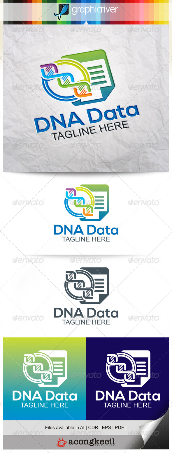 GraphicRiver DNA Data 8102324