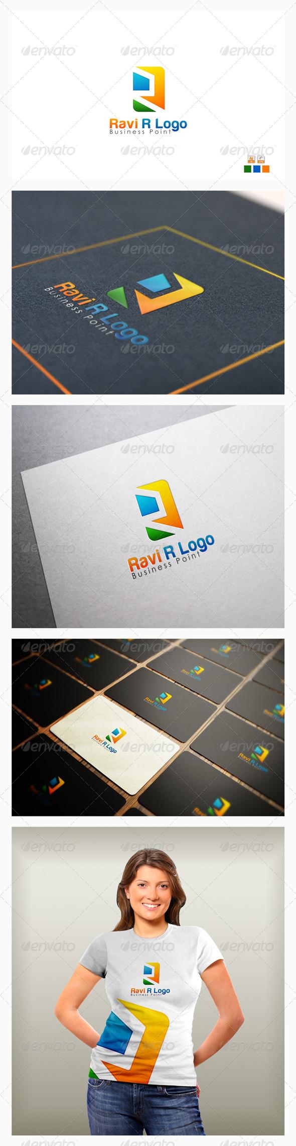 GraphicRiver Ravi R Logo 8102343