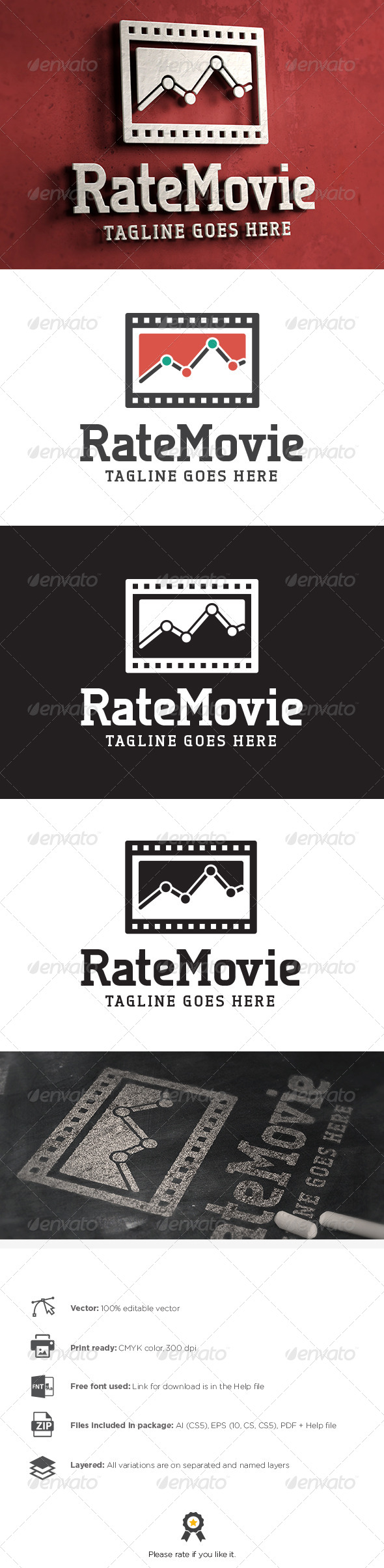 GraphicRiver Movie Logo 8102369