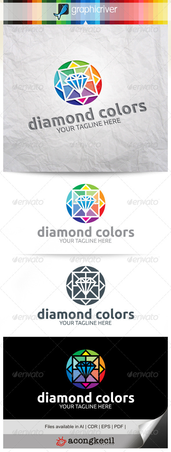 GraphicRiver Diamond Colors V.2 8102420
