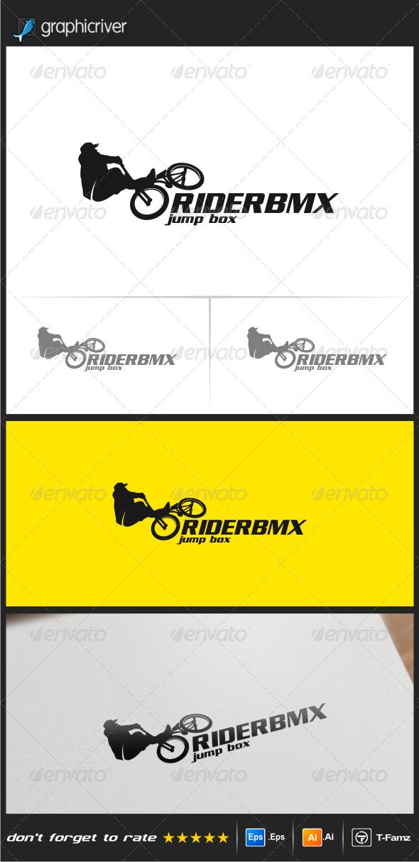 GraphicRiver Rider Bmx Logo Templates 8102650