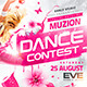 Dance Contest Flyer vol.2 - GraphicRiver Item for Sale