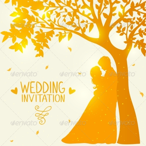 GraphicRiver Love under the Tree 8102855