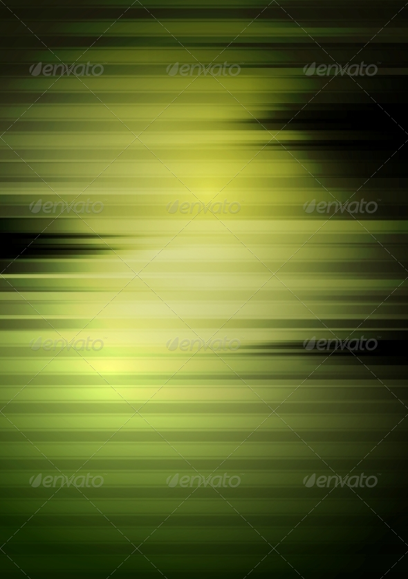 Dark Green Tech Striped Background