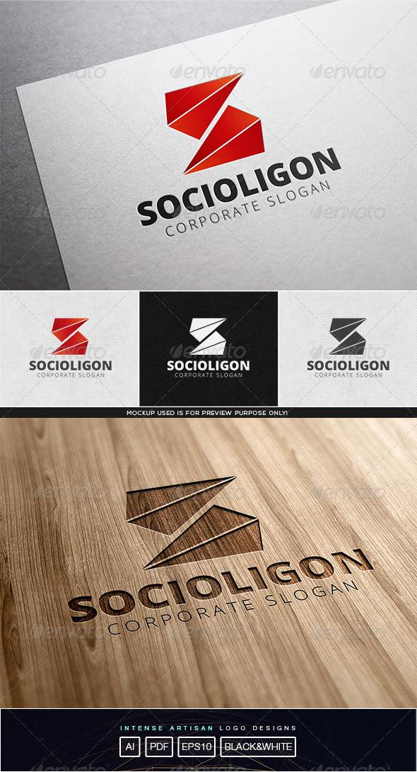 GraphicRiver Socialigon Logo Template 8102940