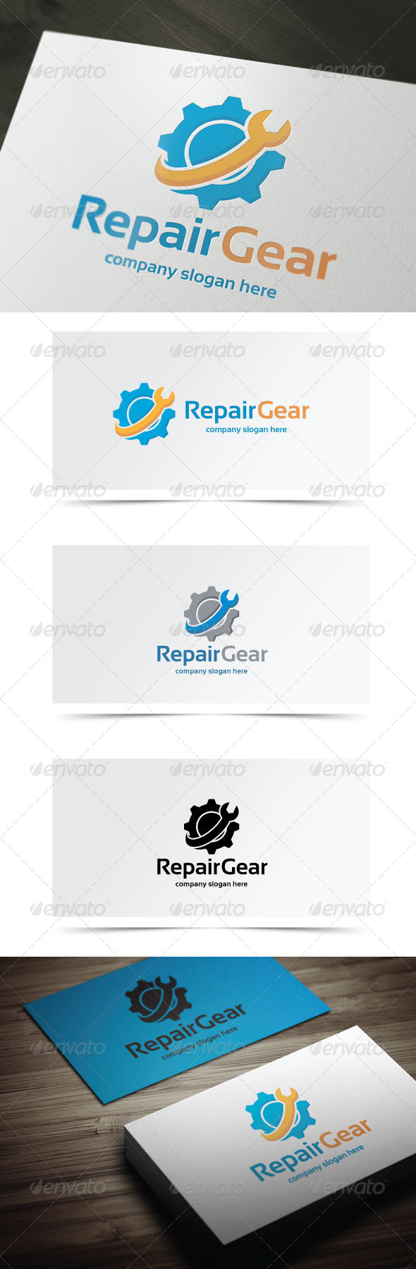 GraphicRiver Repair Gear 8102953