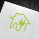 Home Energy Logo - GraphicRiver Item for Sale