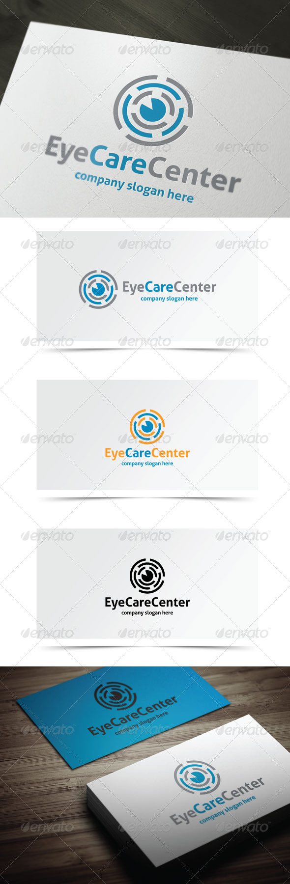 GraphicRiver Eye Care Center 8103044