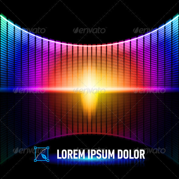 GraphicRiver Color of Music 8103163