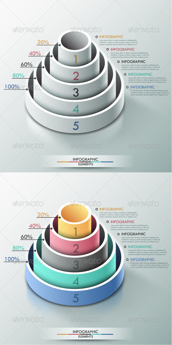 GraphicRiver Modern Infographic Options Banner 2 Versions 8103175