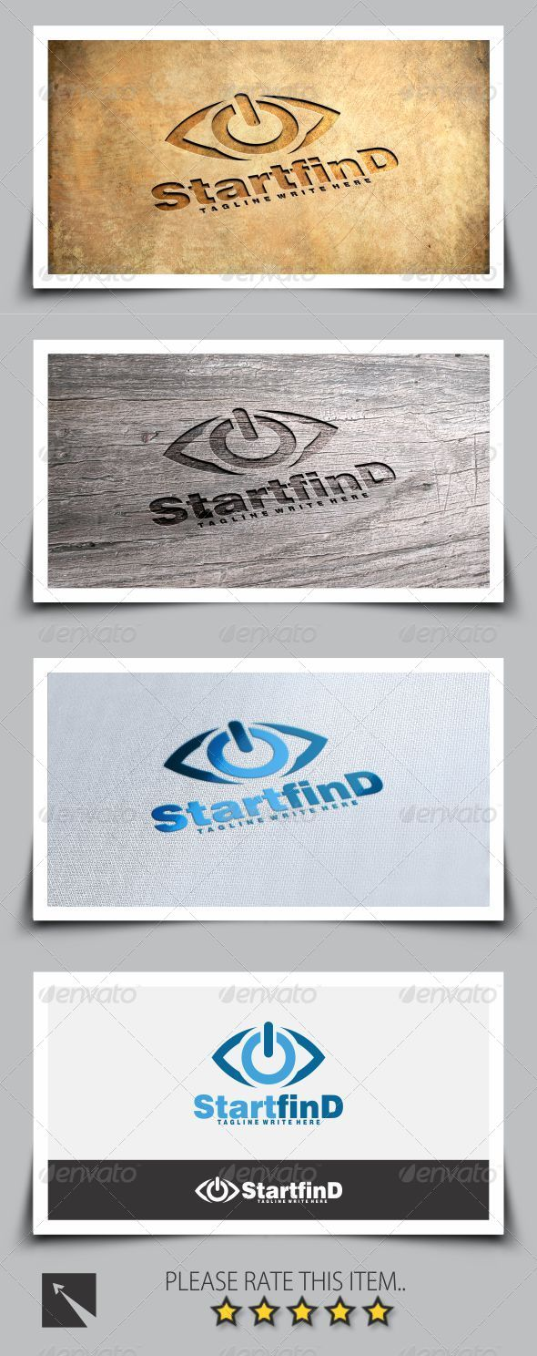 GraphicRiver Start Find Eye Logo Template 8103174
