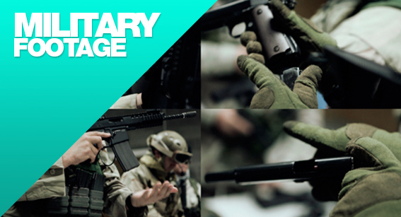 Military footage