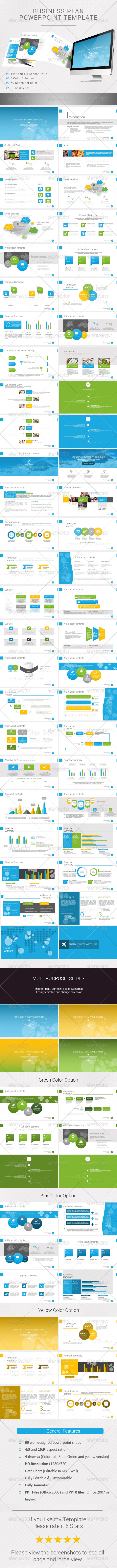 GraphicRiver Business Plan Powerpoint 8103284