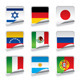 Sticker Flags - GraphicRiver Item for Sale