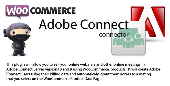CodeCanyon WooCommerce to Adobe Connect connector 8089060