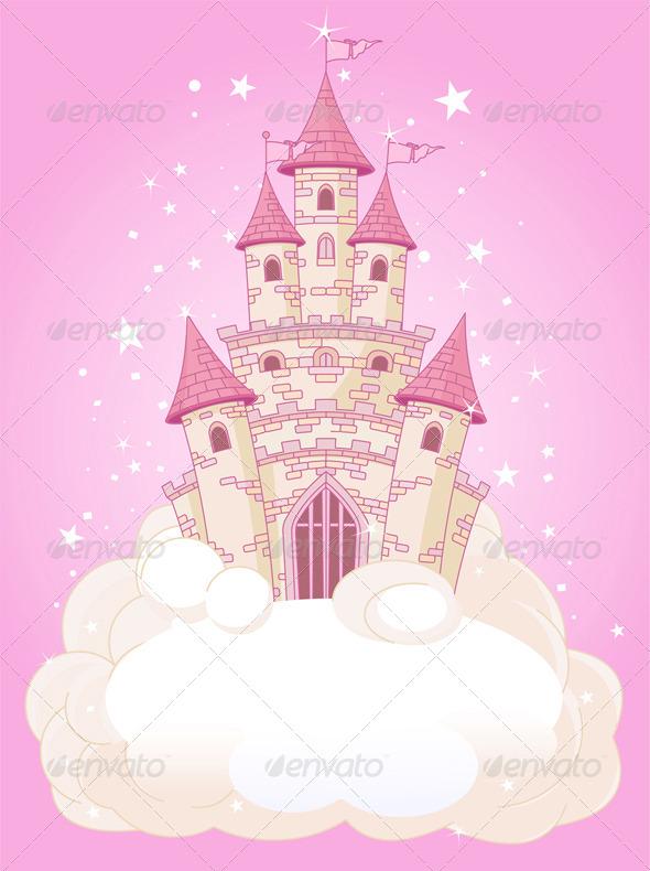GraphicRiver Pink Sky Castle 8103437