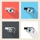 Google Glasses Icon Set - GraphicRiver Item for Sale