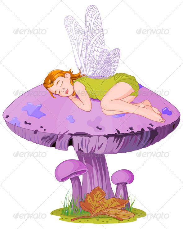 GraphicRiver Sleeping Elf 8103445