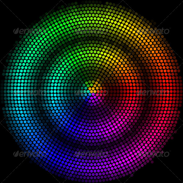 GraphicRiver Dots Digital Form 8103548