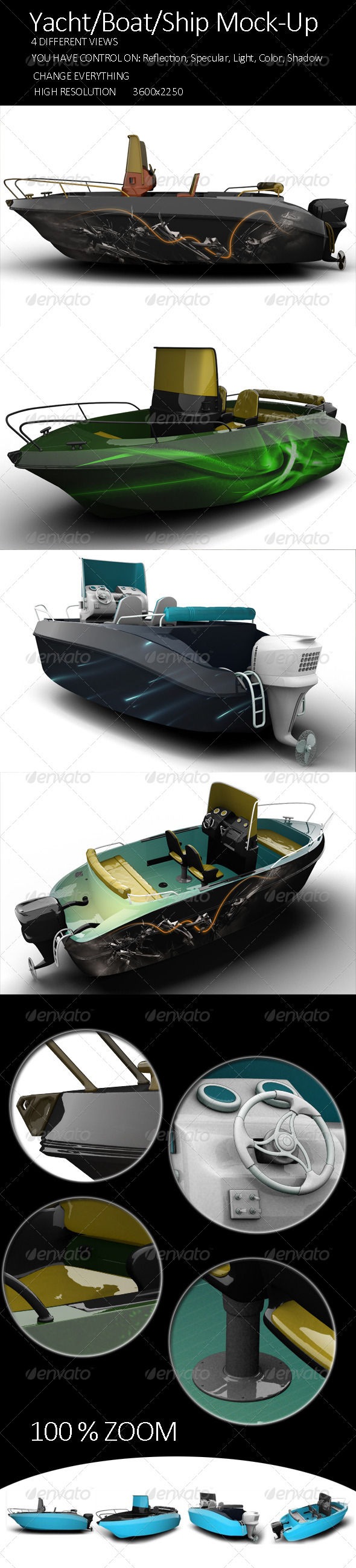 GraphicRiver Yacht Boat Ship Mock-Up Vol2 8100087